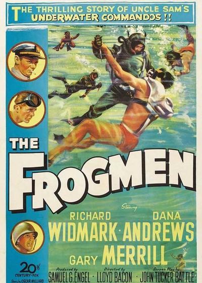 蛙人海底战海报