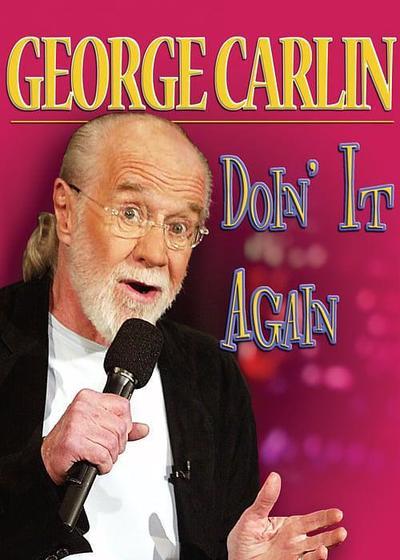 乔治·卡林:再来一次海报