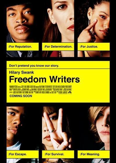 自由作家海报