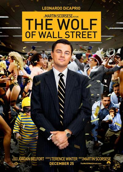 华尔街之狼海报