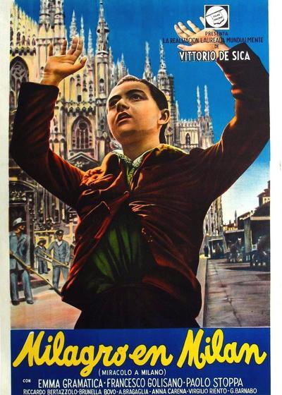 米兰奇迹海报
