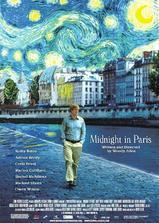 午夜巴黎海报