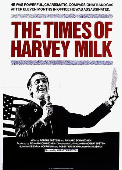 哈维·米尔克的时代海报