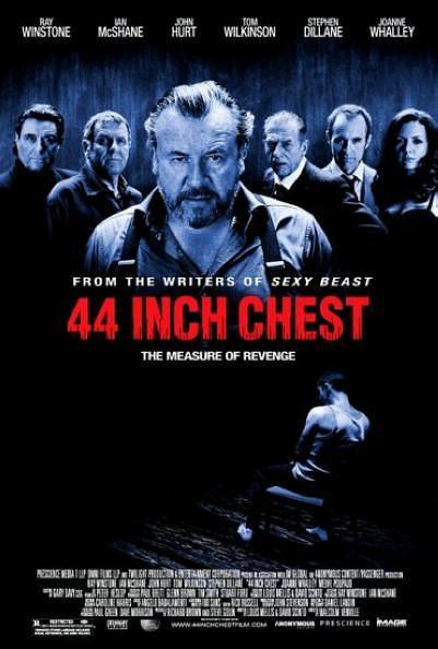 44英寸的胸围