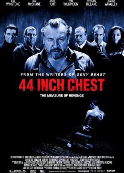 44英寸的胸围海报