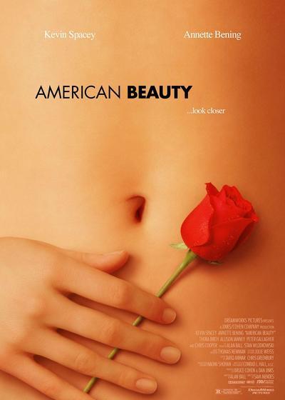 美国丽人海报