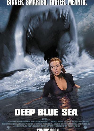 深海狂鲨海报