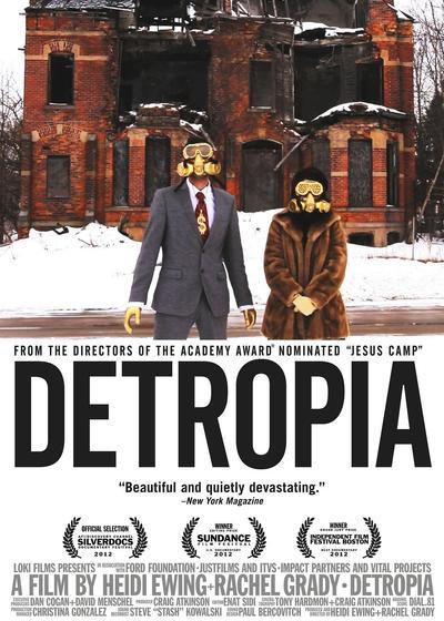 底特律的崩溃海报