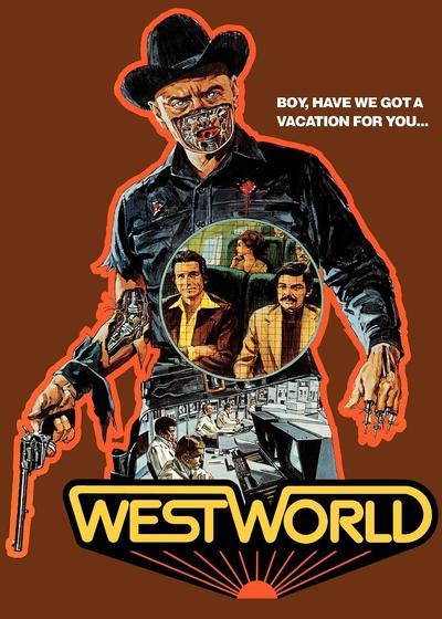 西部世界海报
