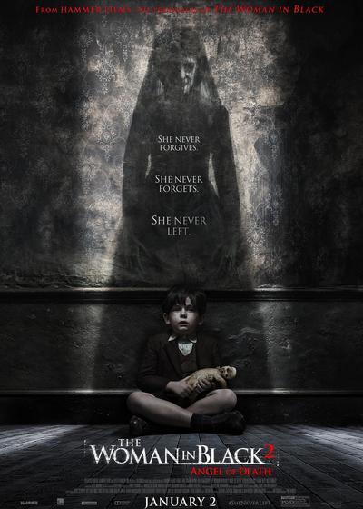 黑衣女人2:死亡天使海报