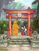 当女孩遇到熊OVA1:初雪之日