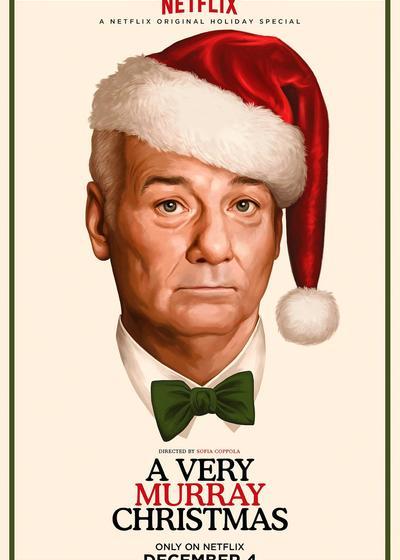 一个很默瑞的圣诞节海报