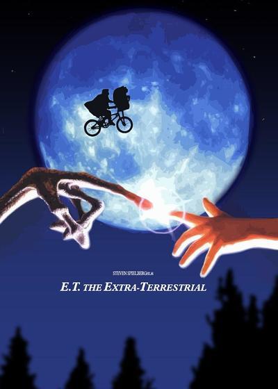E.T. 外星人海报