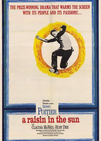 阳光下的葡萄干海报