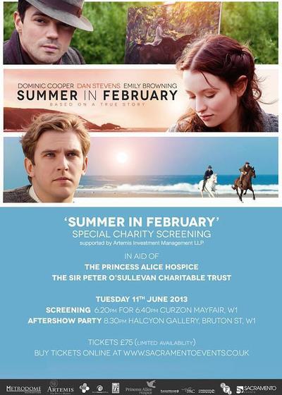 二月之夏海报