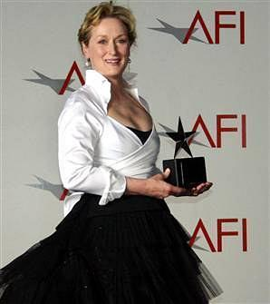 AFI终身成就奖:向梅丽尔·斯特里普致敬海报
