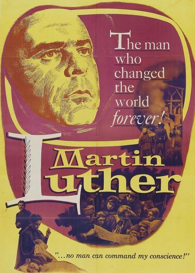 马丁·路德海报