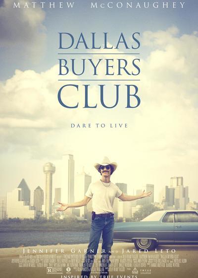 达拉斯买家俱乐部海报