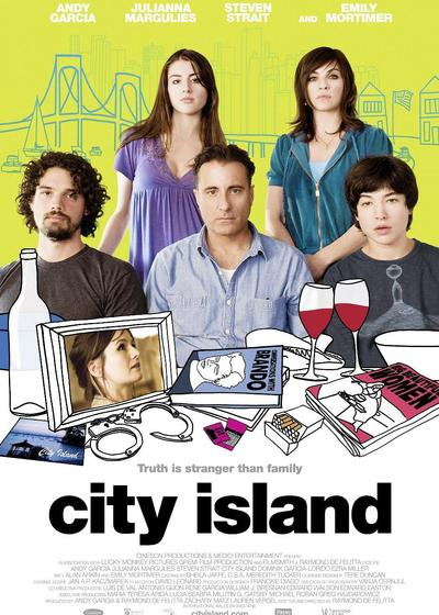 城市岛屿海报