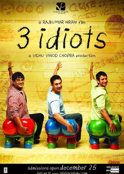 三傻大闹宝莱坞海报