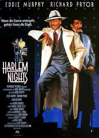 哈林夜总会海报