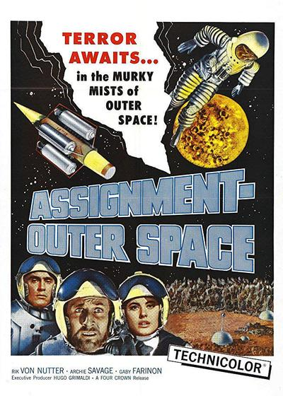 Assignment Outer Space海报
