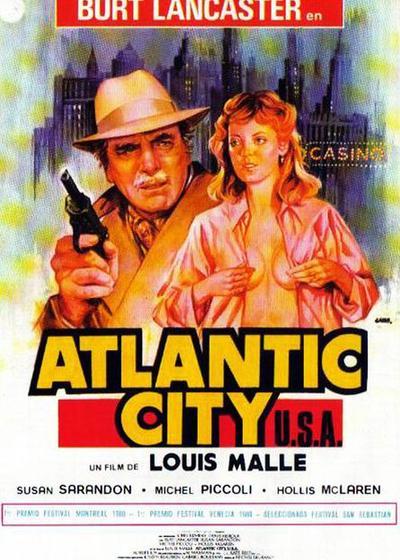 大西洋城海报
