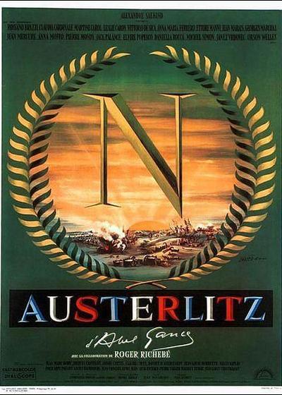 拿破仑在奥斯特里兹海报