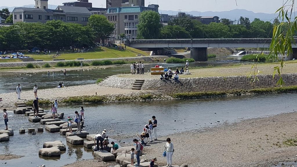 纪实72小时:京都 青春的鸭川三角洲