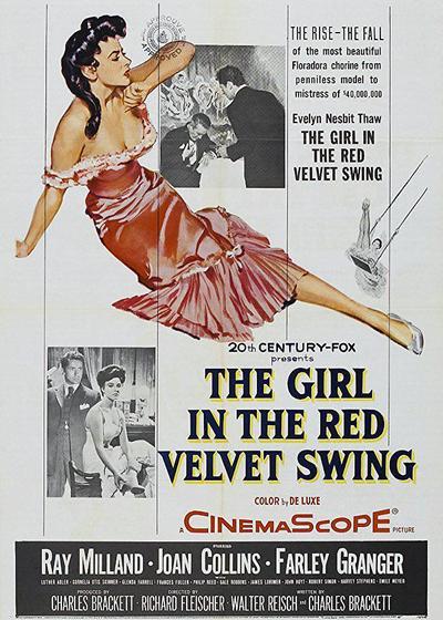 红丝绒秋千里的女孩海报