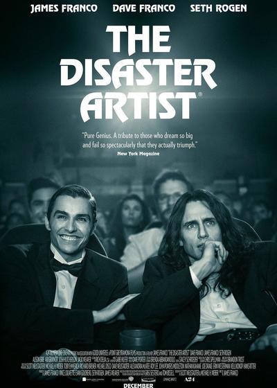 灾难艺术家海报