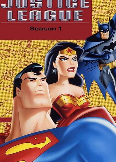 正义联盟 第一季海报
