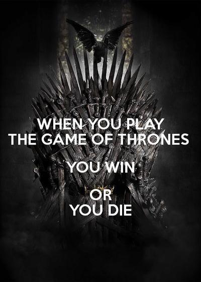 权力的游戏:非赢即死海报