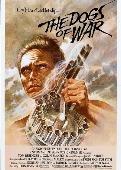 战争猛犬海报