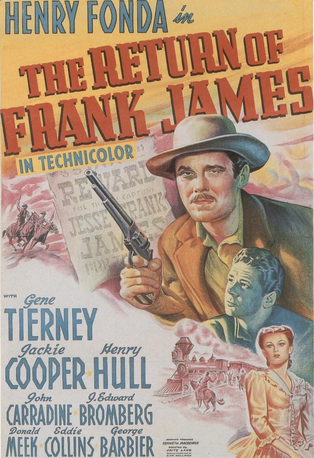 弗兰克·詹姆斯归来