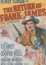 弗兰克·詹姆斯归来海报