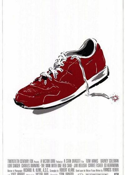 红鞋男子海报