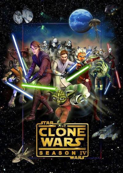 星球大战:克隆人战争  第四季海报