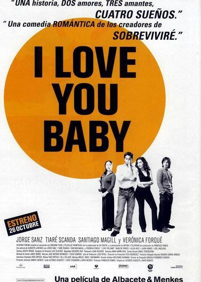 我爱你宝贝海报