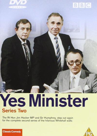 是,大臣  第二季海报