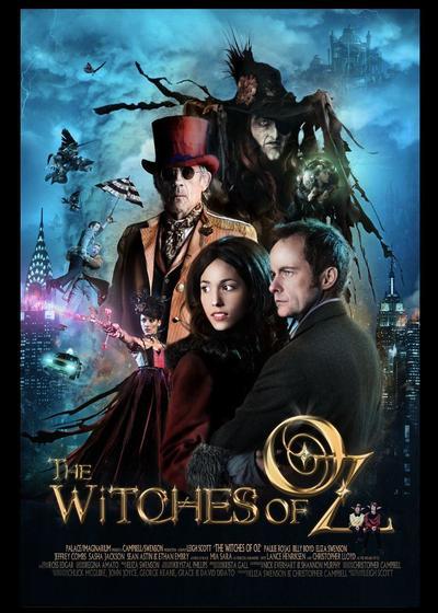 奥兹国的女巫海报
