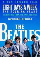 一周八天:披头士的巡演时代海报