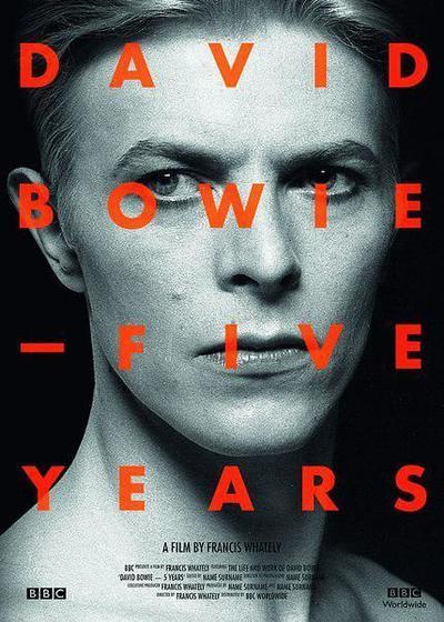 大卫·鲍伊:五年海报