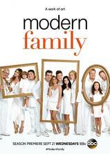 摩登家庭 第八季海报