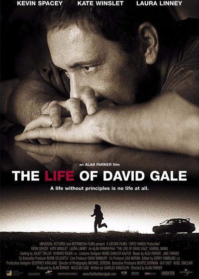 大卫·戈尔的一生海报