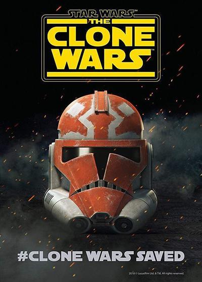 星球大战:克隆人战争 第七季海报