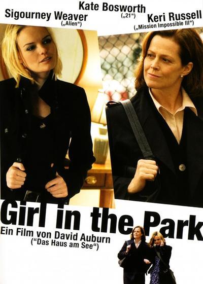 公园里的女孩海报