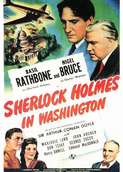 福尔摩斯在华盛顿海报