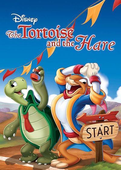 乌龟和兔子海报
