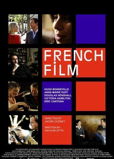 法式爱情电影海报